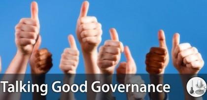 Good Governance symbol. Photo credit: Talking Good Governance.