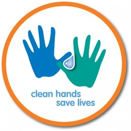 Hands Hygiene logo. Photo credit: Worms and Germs blog.