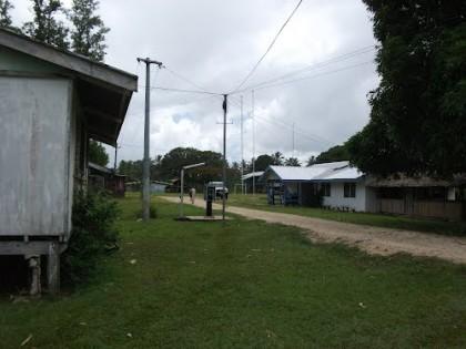 A street in Malu'u, North Malaita. Photo credit: Panoramio.