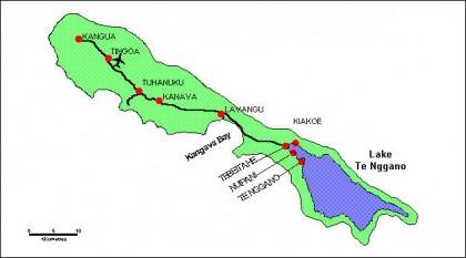 A map of Rennell Island. Photo credit: Fernandocandido.