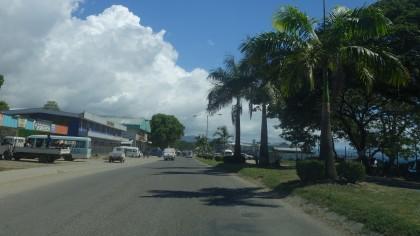 Roads in Honiara, Solomon Islands. Photo credit: SIBC.