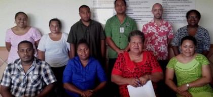 Members of the Pacific Peer Review team currently in Samoa. Photo credit: The Jet Newspaper.
