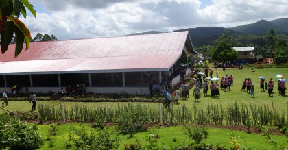 The Viru Seventh Day Adventist Church building in the Western Province. Photo credit: SIBC.