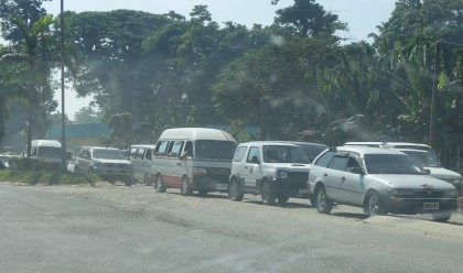 The stretch of road between Bahai and St Barnabas Cathedral. Photo credit: SIBC.