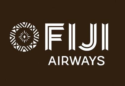 A Fiji Airways brand mark. Photo credit: Create Awards.