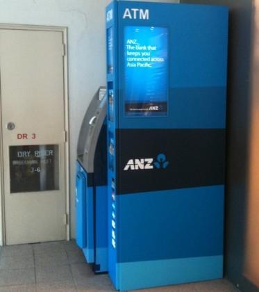 ANZ ATM machine. Photo credit: Street Directory.