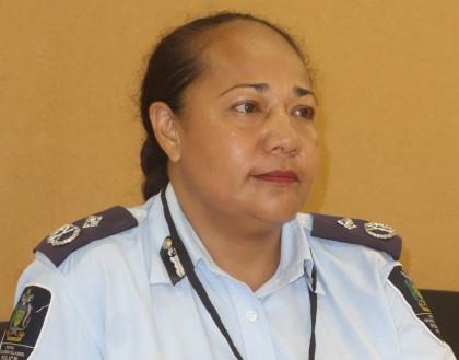 Acting Police Commissioner Juanita Matanga. Photo credit: SIBC.