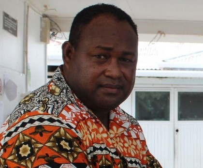 Manasseh Maelanga Leader of the Parliamentary Independent Group. Photo credit: GCU.