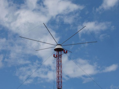 An example of a Non-Directional Beacon. Photo credit: Approach Navigation.