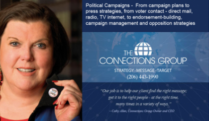 Cathy Allen from The Connections Group in USA. Photo credit: diycampaigns.com