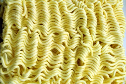 Dried noddles. Photo credit: Salute to your service.