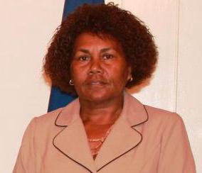 Solomon Islands High Commissioner to New Zealand her Excellency Joy Kere.