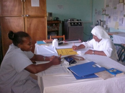 Nurses at the hospital. Photo credit: Google Plus.