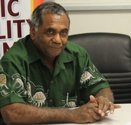 Dr Jimmy Rodgers. Photo credit: Pacific Disability online.