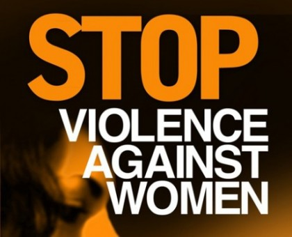 Stop Violence poster. Photo credit: g21.com.au