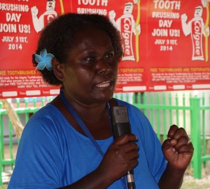 Director Dental Health Service Dr Loreen Oti Maekera. Photo credit: SIBC.