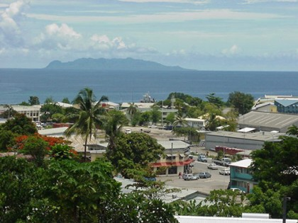 Over looking Point Cruz in Honiara. Photo credit: Turismo Hotels.