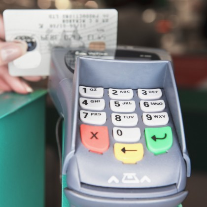 Credit Card Processor. Photo credit: goedps.com