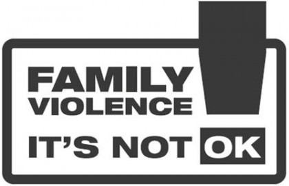Stop Family Violence. Photo credit: AZ Guard.