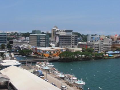 Suva, Fiji. Photo credit: Cruise The Pacific.