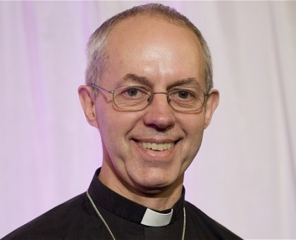 The Archbishop of Canterbury the Most Right Reverend Justin Welby. Photo credit: Telegraph UK.