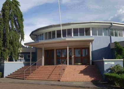The High Court of Solomon Islands. Photo credit: SIBC.