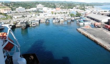 The Solomon Islands Ports Authority. Photo credit: SIPA.