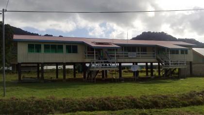 A classroom at the school. Photo credit: Sir Dudley Tuti College wordpress.com