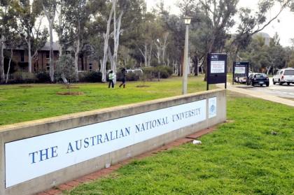 The ANU grounds. Photo credit: APP.