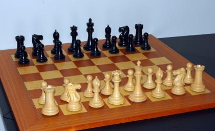 A Chess board. Photo credit: Wikipedia.