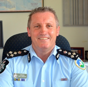 Commander of RAMSI's Participating Police Force: Greg Harrigan. Photo: http://www.ramsi.org/
