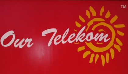 Our Telekom logo. Photo credit: SIBC.
