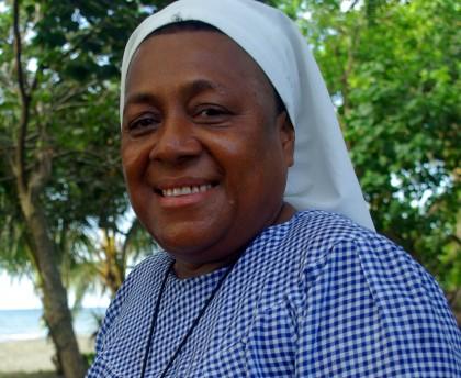 Sister Doreen Awaiasi Coordinator of the Christian Care Centre. Photo credit: Wikimedia.