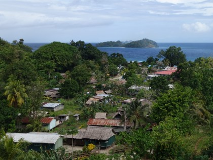 Overlooking Tulagi the capital of Central Province. Photo credit: SIBC.