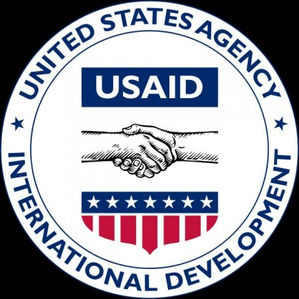 The official USAID Logo. Photo credit: budgetinsight.