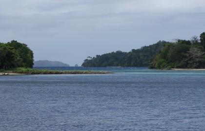A bay at Tulagi. Photo credit: SIBC.