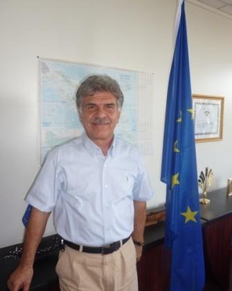 EU Ambassador to Vanuatu and Solomon Islands Ambassador Leonidas Tezapsidis. Photo credit: EU.