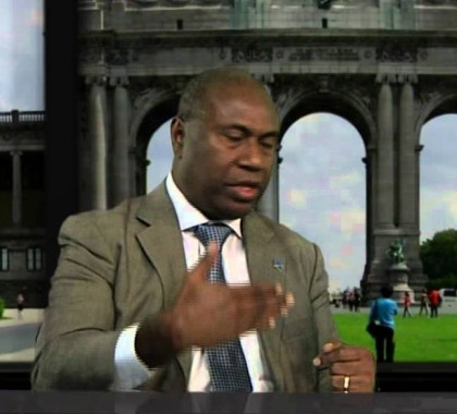 Solomon Islands Ambassador to the European Union Dr Moses Mose. Photo credit: Youtube.com.