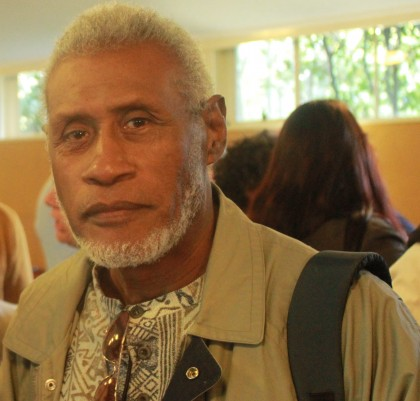 Fr Samuel Ata, former Chairman of the Solomon Islands Truth and Reconciliation Commission. Photo credit: SIBC.