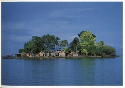 Laulasi a Malaita nelle Solomon postcard. Photo credit: FORUM di FILATELIA pagina.