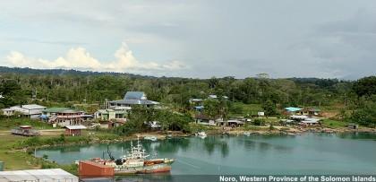 Noro in the Western Province. Photo credit: Joanna Benn.