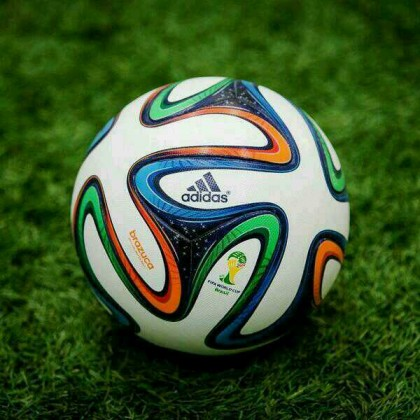A soccer ball. Photo credit: Team USA Soccer Jersey.