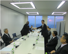 The signing in Tokyo Japan. Photo credit: GCU.