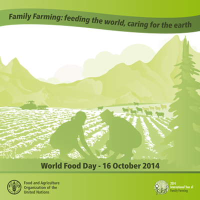 World Food Day poster for 2014. Photo credit: http://www.gasp.org.uk.
