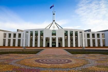 Australian Parliament house. Photo credit: http://www.idownloadblog.com