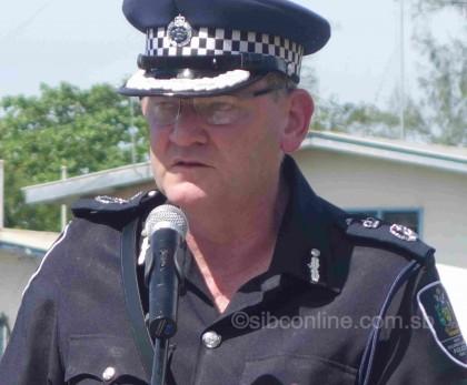 RSIPF Commissioner Frank-Prendergast