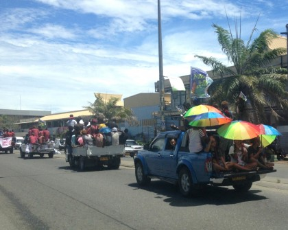 Float of Candidate Supporters