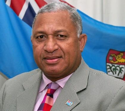 Fiji Prime Minister Frank Bainimarama. Photo credit: www.sampsoniaway.org