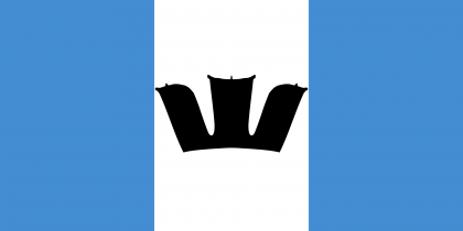 Flag of Rennell and Bellona Province. Photo credit: commons.wikimedia.org