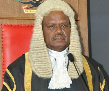 Former Speaker of Parliament Sir Allan Kemakeza. Photo credit: National Parliament of Solomon Islands.